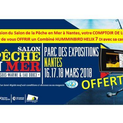 Opération spéciale du 16 au 23 mars, soyez bien équipé pour naviguer.