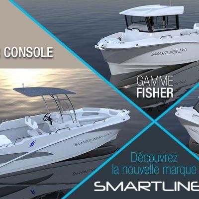 La gamme de bateaux rigides Smartliner disponible au Comptoir de Loctudy