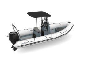 Bombard Explorer 600 en blanc