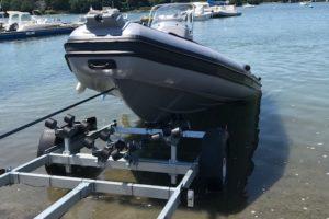 Remorque OceaneO075T pour bateau semi-rigide ou rigide