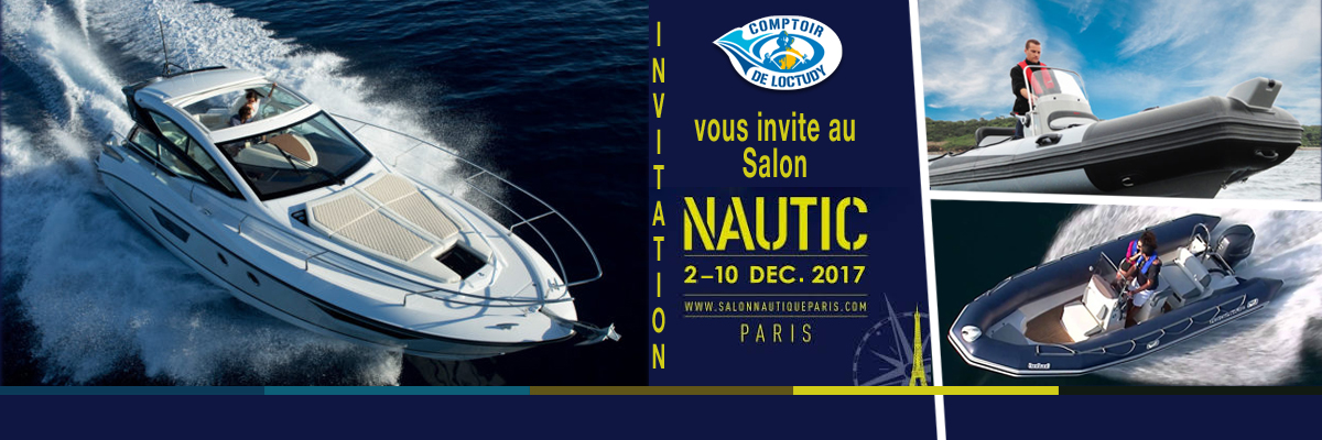 invitation salon Nautic paris
