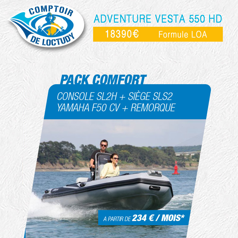 Pack adventure comfort finistere