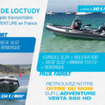 Vesta 550 HD en pack Finistere