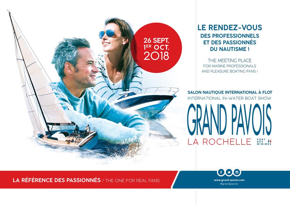 Salon grand Pavois 2018 - invitation