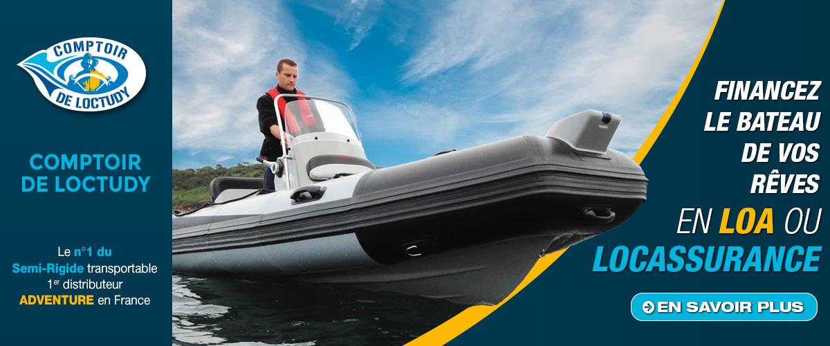 Acheter votre bateau avec la LOA Marine