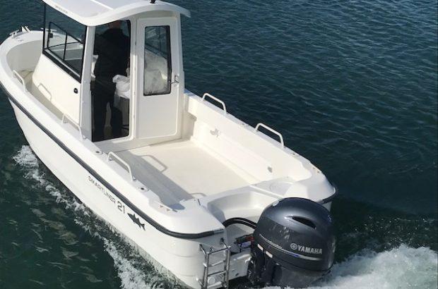 Smartliner 21 Fisher arrière