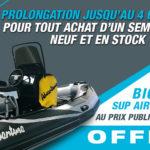 Prolongation de l'offre paddle au Comptoir de Loctudy