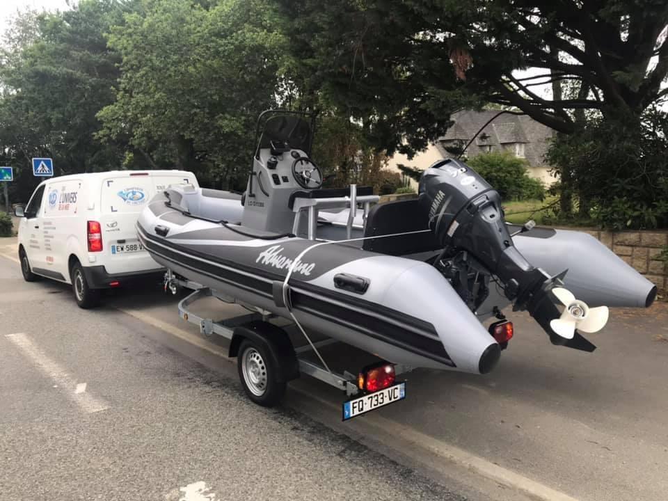 Livraison bateau assurée par le Comptoir de Loctudy