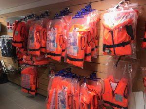 Accessoires de sécurité gilets de sauvetage